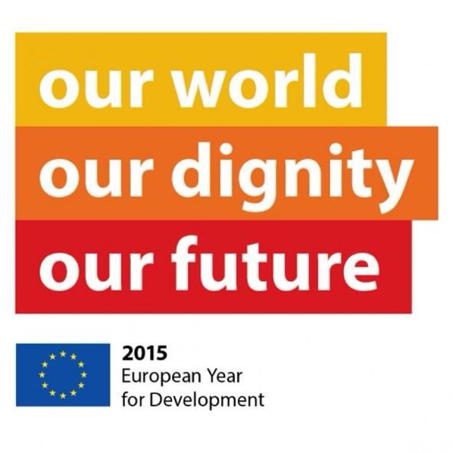 Motto Evropského roku pro rozvoj 2015